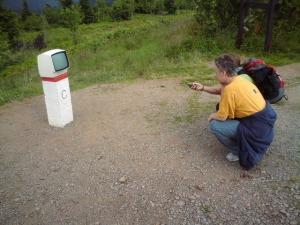 SKPS próbuje oglądać telewizję na w Górach Orlickich. Odbierało jedynie czeski film.