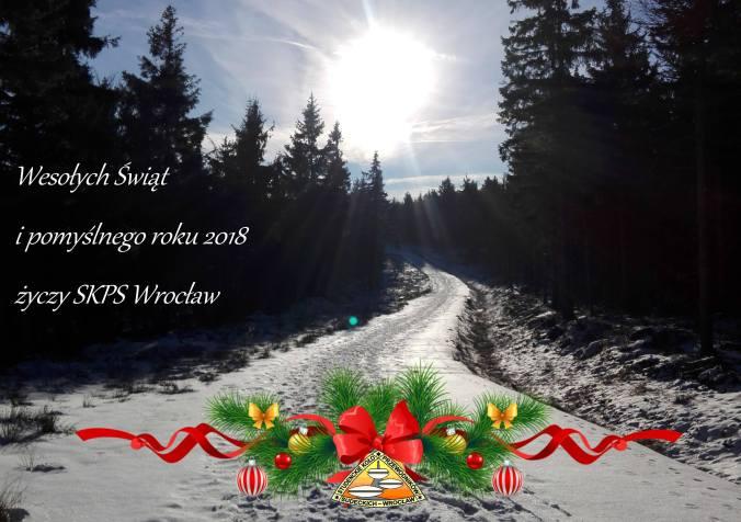 Wesoły Świąt na szlakach w Sudetach!